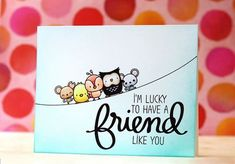 Cute Friendship Card Designs (DIY Ideas)  (7)