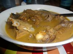 Goat meat Peppersoup    Location: Dublin