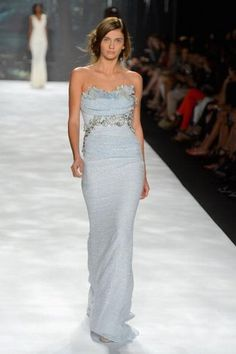 Highlights from the Badgley Mischka Spring 2013 Runway Show during New York Fashion Week at Lincoln Center for the Performing Arts on September 11, 2012.
