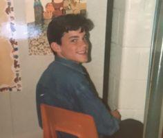 #MattBomer in the 8th grade! from a Twitter post via Morgan Harris