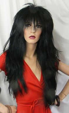 Rock on, Giant Trading, Punky XL, heavy metal wig, adjustable head size