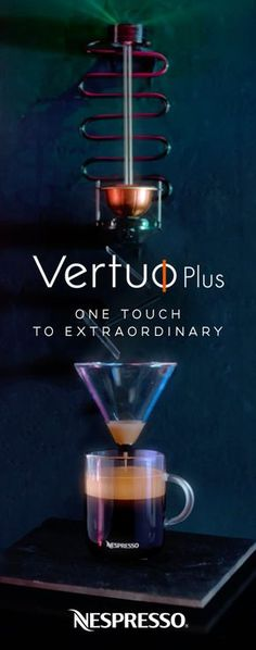 The extraordinary craft behind an extraordinary cup of coffee. Discover Nespresso VertuoPlus.