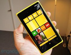 Nokia Lumia 920 apparently will become available in November