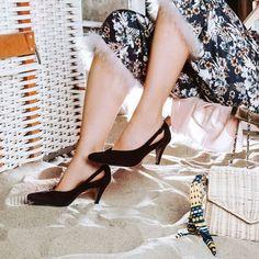 NEU PAUL GREEN Cut Out Ballerina Damen Schuhe Slipper Leder