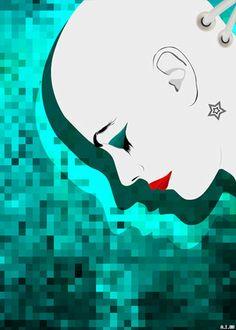 """Plugged"", Digital Illustration by Aphrodite Ioannou Digital Illustration, Art Illustrations, Photography Portfolio, Aphrodite, Plugs, Disney Characters, Fictional Characters, Snow White, Disney Princess"