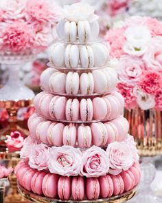 """287 Likes, 1 Comments - Life's Little Celebrations (@lifeslittlecelebrations) on Instagram: """"The prettiest of macaron towers by @onebitemacarons  in Sydney and styling by…"""""""