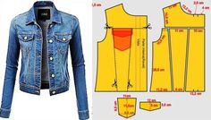 Cindy Jeans Jacket // Sizes 18 & 20 // Women's Jacket PDF sewing pattern by Style Arc // DIY clothing // Sewing Projects Coat Patterns, Dress Sewing Patterns, Clothing Patterns, Trash To Couture, Diy Jeans, Sewing Blouses, Jacket Pattern, Diy Clothing, Diy Fashion