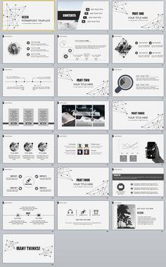 22+ Best gray Business Design PowerPoint templates