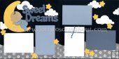 Sweet Dreams (Boy) Scrapbook Page Kit