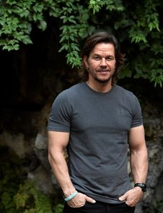 "Mark Wahlberg was all smiles at a photocall for his film ""Deepwater Horizon"" in Rome."