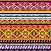 Illustrazione - sfondo trasparente con un ornamento messicano