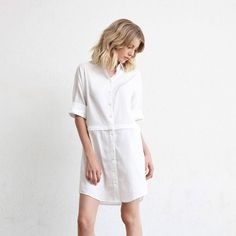 The Convertible Shirt Dress