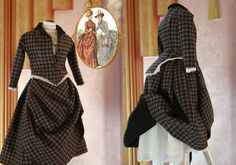 Vintage Dresses, Miniatures, Two Piece Skirt Set, Dresses For Work, Skirts, Fashion, Vintage Gowns, Moda, Skirt