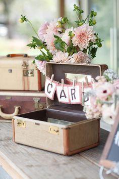 wedding guest book table idea; photo: K Stone Photo