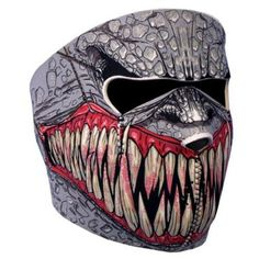 Where to buy Shop For NEOPRENE SKULL FULL FACE REVERSIBLE MOTORCYCLE MASK (Fang Face) for  Halloween Gifts Idea Sales for  #Halloween Gifts Idea Online Shopping