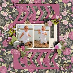 Kit: Anew - Jennifer Labre Template: To the point V1 - Meagan's Creations