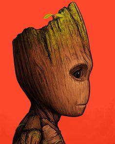 "2,125 Likes, 39 Comments - MONDO (@mondotees) on Instagram: ""I am Groot! I am Groot, I am Groot. I am Groot! - I AM GROOT! I am Groot, I am Groot, I am Groot! I…"""