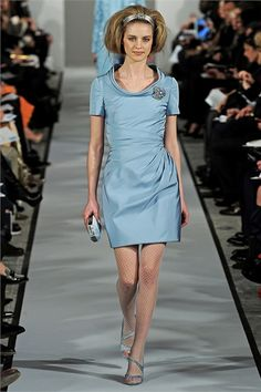 Sfilata Oscar de la Renta New York - Collezioni Autunno Inverno 2012-13 - Vogue