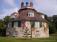 3/366 - A La Ronde, Devon, England by Gary Shield, via Flickr Devon England, Exeter, Grand Tour, Great Britain, 18th Century, Shell, Europe, Houses, Mansions