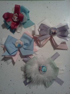 Assorted Princess Fancy Bows