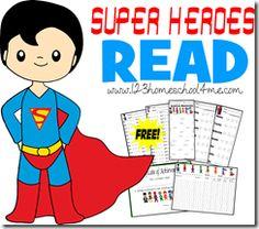 Libro de Súperheroes en inglés básico para pequeños!