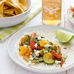 Recipe | Sweet & Spicy Mango Fajitas + Homemade Fajita Seasoning Mix