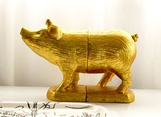 """For our golden boy who was born in 2007-the year of the """"golden"""" pig."""