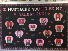 Valentines Day Bulletin Board Ideas That will Make Kids Jump Out In Joy - - Have you been thinking about Valentines day bulletin board ideas for preschool or kindergarten? Glance through the best february bulletin board ideas here! February Bulletin Boards, Valentines Day Bulletin Board, College Bulletin Boards, Kindergarten Bulletin Boards, Bulletin Board Design, Birthday Bulletin Boards, Reading Bulletin Boards, Winter Bulletin Boards, Bulletin Board Display