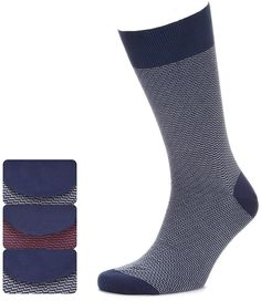 Collezione 3 Pairs of Collezione Diagonal Striped Socks £8 47% OFF! #bestdressed #fashion #ukhd #style #deal www.bestdressed.co.uk