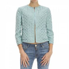 Just in at Maple: NWT Armani Collezioni turquoise jacket! Size 4