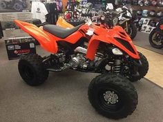 New 2017 Yamaha Raptor 700 ATVs For Sale in Florida. 2017 Yamaha Raptor 700, 2017 Yamaha Raptor 700 EYE-POSSING PERFORMANCE, VALUE <p>The Raptor 700 offers true pure sport ATV performance at an unbeatable price.</p> Features may include: <li>Aggressive Style</li><p>Aggressive styling makes the Raptor 700 look as menacing as it really is. The mighty Raptor 700 is ready to go whether the destination is the dunes, the trails or the track.</p><li>Big-Bore Power</li><p>Powered by our most potent…