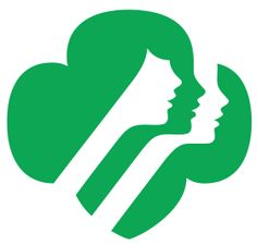 Girl Scouts of the USA.svg   logo designed by Saul Bass