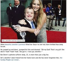 Daily Humor and Fails - this is why Jennifer Lawrence deserves all the awards. More at http://www.vooble.com