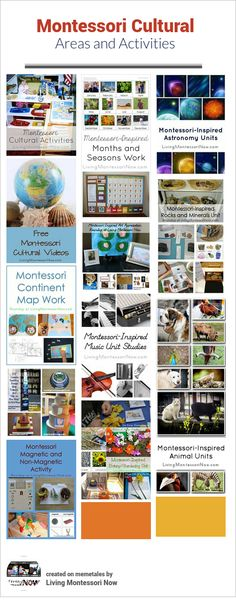 The Montessori cultural curriculum can seem overwhelming.But Montessori cultural areas and activities can be some of the most rewarding and fun. Part of the 12 Months of Montessori Series.