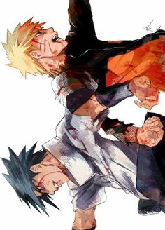 Let's get something straight here - the bromance between Sasuke and naruto is one of the most awesome things in the world Naruto Shippuden Sasuke, Anime Naruto, Sasunaru, Boruto, Wallpaper Naruto Shippuden, Naruto Gaiden, Naruto Sasuke Sakura, Narusasu, Naruto Wallpaper