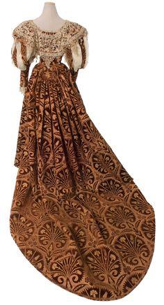 Evening dress c.1895