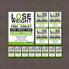 Herbalife 3 Day Trial Print Ready Matching Flyers And Business Cards Can