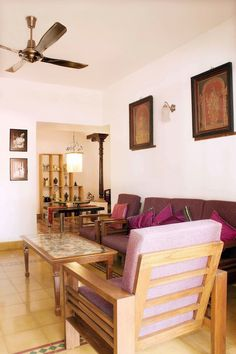 My apartment is located in a quaint neighbourhood of Bangalore known as Cooke town. Chettinad style home design