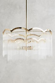 Arched Waterfall Chandelier - anthropologie.com
