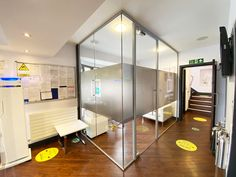 Laminated Acoustic Glazed Office For A Dentist Surgery for Darren Bywater Dental Care in Derby, Derbyshire. City Of Derby, Glass Office, Glass Partition, Derbyshire, Dental Care, Glass Door, Acoustic, Surgery, Home Decor