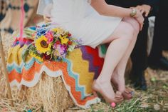 colors in this blanket amazing French Wedding, Boho Wedding, Wedding Blog, Wedding Stuff, Wedding Themes, Wedding Colors, Wedding Decorations, Themed Weddings, Wedding Ideas