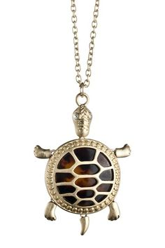 Tortouise Turtle Pendent Necklace.