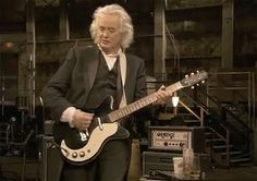 MAGE MUSIC:  2008 Jimmy Page, still playing that Danelectro, from the movie It Might Get Loud
