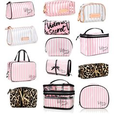 Victoria's Secret Cosmetic Bags by stephanie-rozek-paris on Polyvore featuring polyvore beauty Victoria's Secret