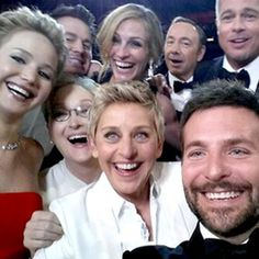 OK, stop the presses. Ellen DeGeneres topped her classic Clint EastwoodOscars moment in 2007 in ...