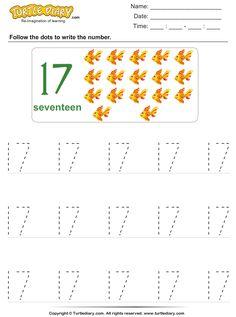 Numbers For Kids, Numbers Preschool, Learning Numbers, Writing Numbers, Preschool Math, Math Activities, Number Worksheets Kindergarten, Tracing Worksheets, First Grade Curriculum
