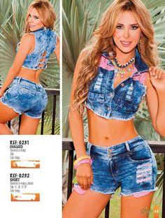 Pathymodas: Enterizo jeans colombiano Yes Brasil