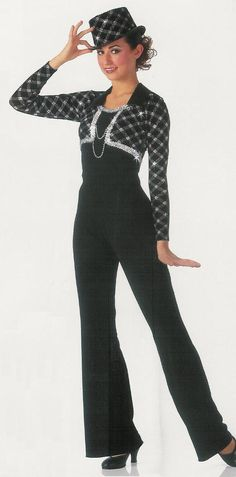 Easy Street Tuxedo Tap Jazz Dance Costume Tux CXS CX CL | eBay
