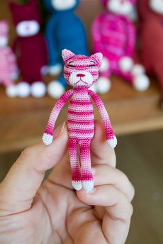 #crochet tiny amineko