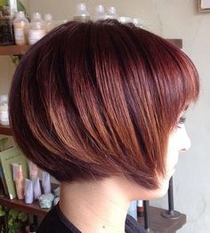 Stylish Short Haircut for Thick Hair - Summer Hairstyles 2015